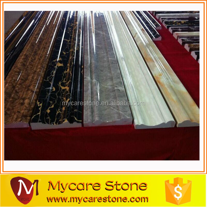 New Arrival Marble Chair Rail Moulding Cheap Price,Border