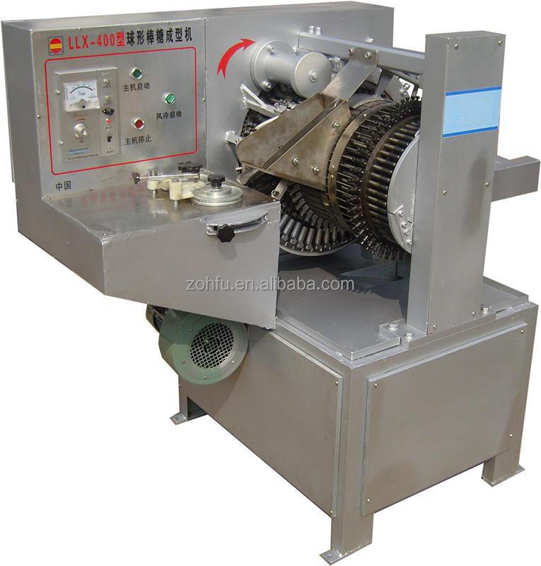 automatic hard candy lollipop making / forming machine / plant / production line