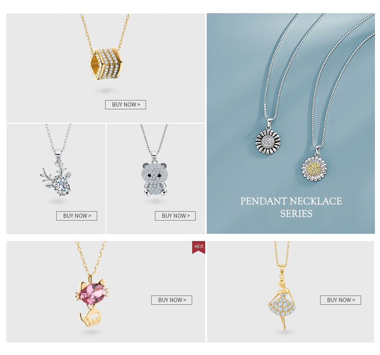 2019 Customize Attractive Jewelry 925 Silver Gold Plated Girl Dancing Pendant Necklace