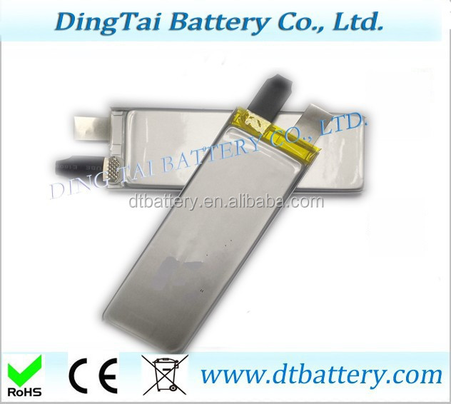 3.7V 2.2Ah high rate lithium battery cell, 803496 3.7V 2200mah high rate rechargeable lipo battery cell 25C discharge
