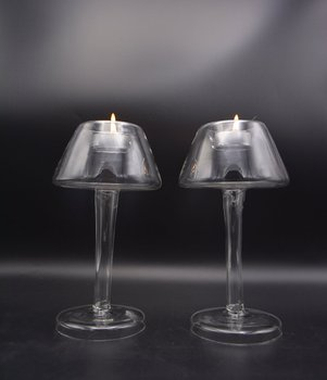 Glass Table Lamp Shade Shape Tealight Holder Buy Desk Lamp