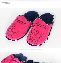 Fancy Custom Designed Cheap Wholesale Personalize Winter Women Indoor Cotton Bedroom Slippers Shoes