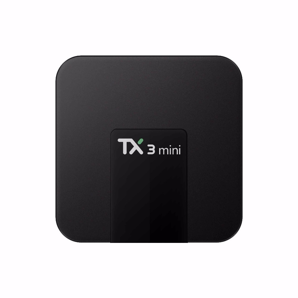 Suooprt 4 Karat Video Devode 3D Spiele Spielen TX3mini S905W 1g Ram 8g Rom Internet Android Tv Box