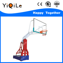 Manual hydraulic basketball stand removable portable basketball hoop stands