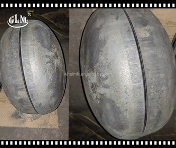 special 300*3mm as a whole steel ball to form joggled head