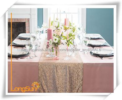 Camino de mesa para mesas redondas para banquete del for Caminos para mesas redondas