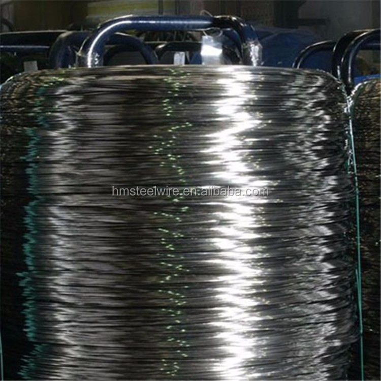 Good supplier oil tempered and hardened spring steel wire raw material