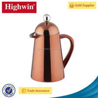Used In Kitchen house double wall copper handy brew coffee tea maker