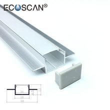 Ecoscan all kind of heat sink 16mm aluminium extrusion led profiles Embedded in Plaster