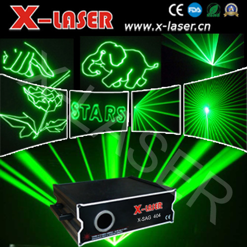 1W single green animation laser light with ILDA, outdoor advertisement laser lighting, animation writing laser lights