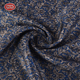 Low MOQ luxury polyester viscose men suiting cation print fabric for garment