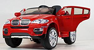 New 12v Licensed BMW X6 Kids Ride on Toy Car, Doors, Music, Lights, Remote Control