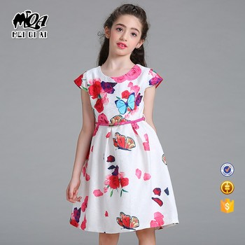 Wholesale Kids Fashion Clothing Party Kids Birthday Embroidery