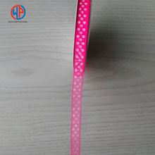 Wholesale Polka Dot Pink Organza Ribbons