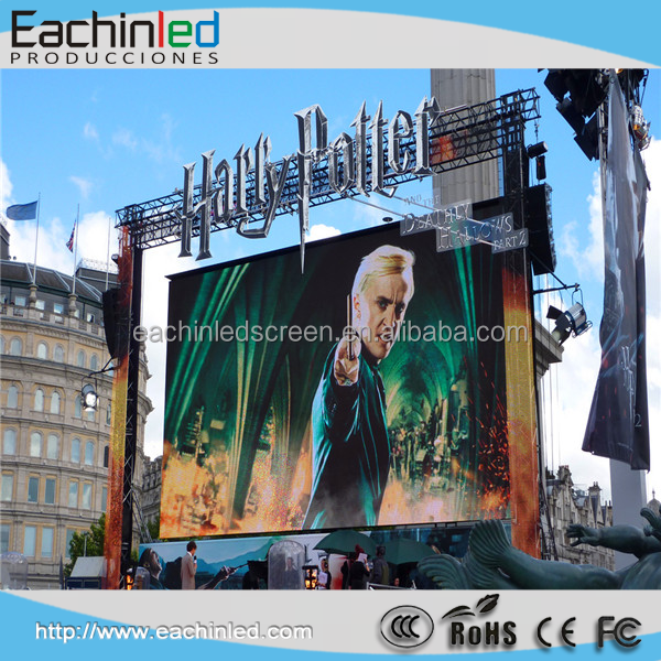 Long life p4 rental led display /led video wall p4.81 outdoor rental usage led video wall / 2 by 3 meters led screen