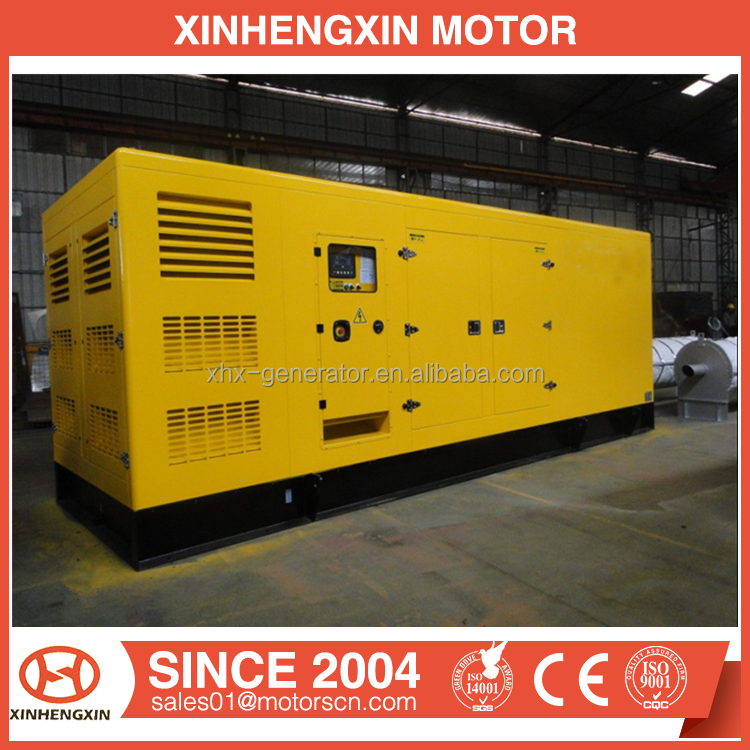 Hot Sale In Philippines 600KW Silent Diesel Electric Generator