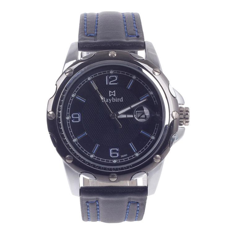d94c84ca6e42 Get Quotations · Complete Calendar Mens Watches Top Brand Luxury Leather  Strap Quartz Watch Relogio Masculino Montre Homme A144WA