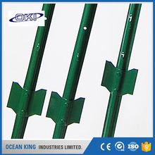 manufacturer of low price Q235 australia standards y type star chain link fence post
