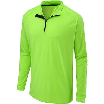 88056e29290 100% Polyester Long Sleeve 1/4 Zipper Dri Fit Men's Workout Shirts /  Wholesale Custom Dri Fit Men's Running Shirts - Buy 100% Polyester Polo  Shirt ...