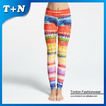 788d3f7c7 2015 Wholesale Custom Colorful Yoga Pants For Women Gym Leggings ...