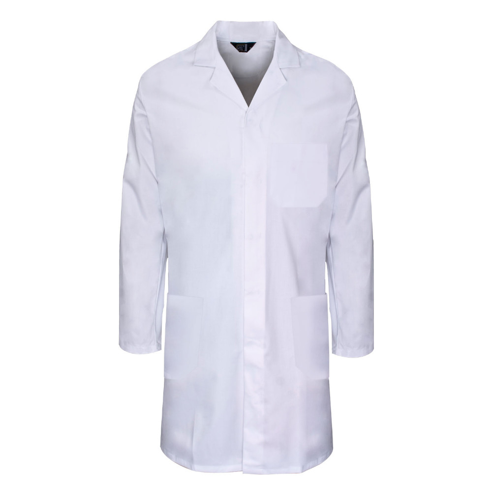 New Style 100% Cotton White Lab Coat In Hospital Uniforms For ...