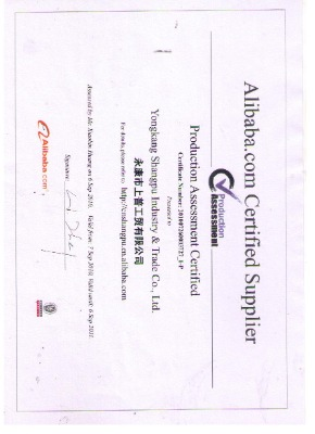 alibaba.com certificated supplier