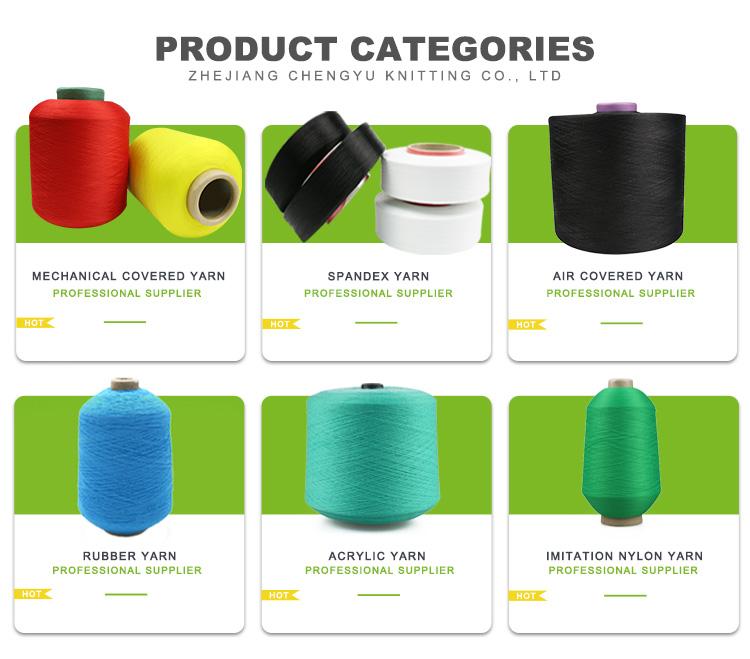 Dibuat Di China 40/2 Polyester Imitasi Benang Nilon untuk Sarung Tangan