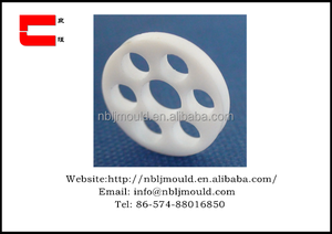 custom design PTFE parts by lathing for Pharmaceutical, chemical, communications equipment