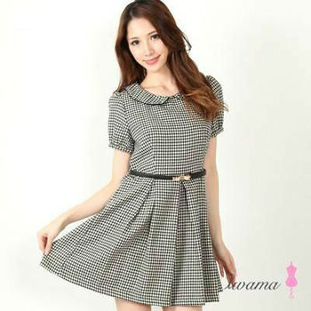 86a6496f9f8c <80950ta> Ladies Short Sleeve Casual Dresses - Buy Girls Casual ...
