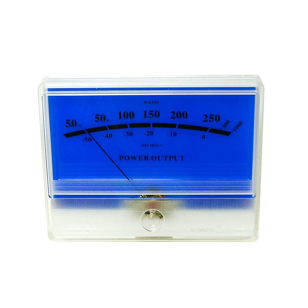 Buy Vu Meter Db Level Header Blue Lake Amplifier Chassis Audio Power For Amplifiers Panel Tn 90