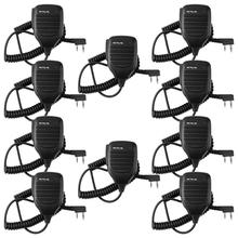 Pacote Barato 2 10 Pin Speaker Mic microfone Para Baofeng Kenwood UV-5R BF-888S Retevis H777 RT21 RT22 RT27 H777S Rádio