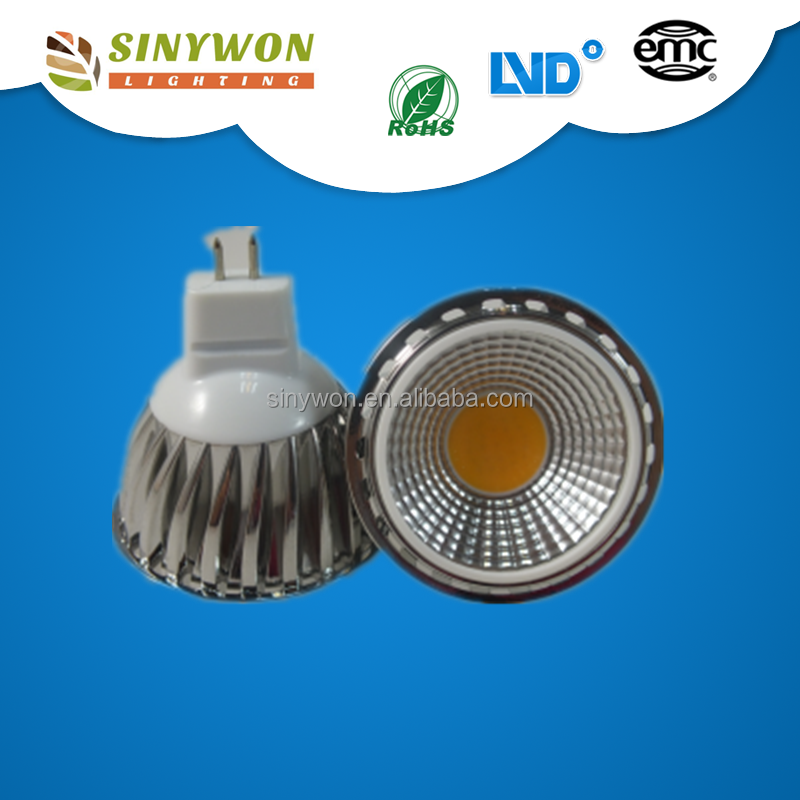 Cheap Price High CRI 3 W 5W 6W 7W COB MR16 GU10 LED Spot Light