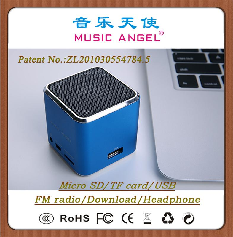 MUSIC ANGEL JH-MD07U patent products bass boom audio speaker mini speaker manual