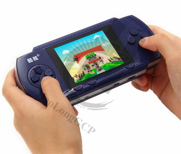 "Handheld Games For Kids 4.3"" inch Built 280 Classical Game Children's Game Consoles Double Play Support External handle"