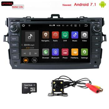 lpyfrg c600 android 7 1 car gps navi for corolla 2006 2012. Black Bedroom Furniture Sets. Home Design Ideas