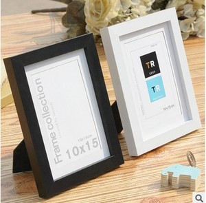 Plastic 4 * 6 inch Stand Photo Frame Wall Hanging Picture Photo Frame