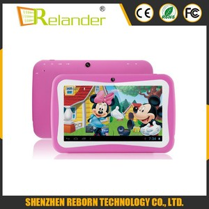 7 inch Quad core 8GB RK3126 Kid tablet children with HD screen new toys for  kid 2016