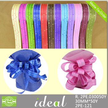30mm bright embossed character printed grosgrain ribbon for making bows