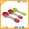FDA Standard Eco-friendly Hot Sale Silicone mini Measuring Spoon