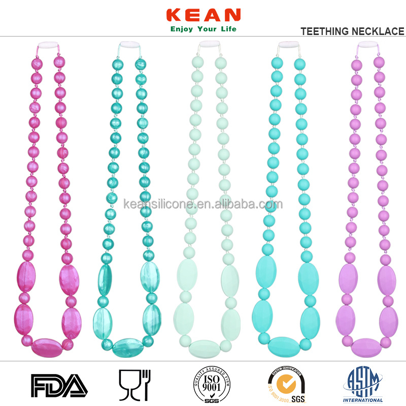 2017 new fashion necklace jewelries soft silicone