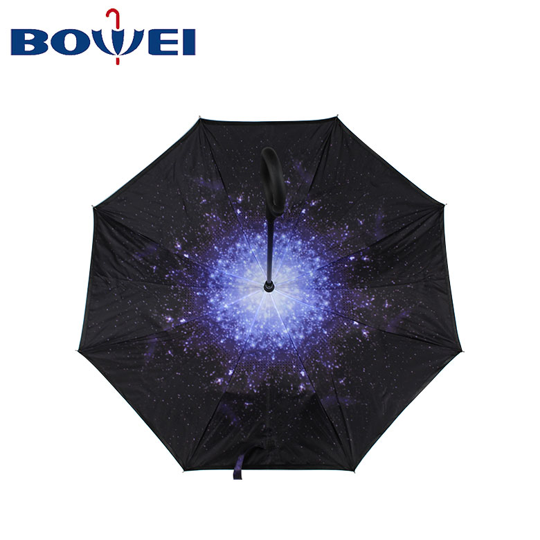 2020 strong windproof double layer inverted umbrellas