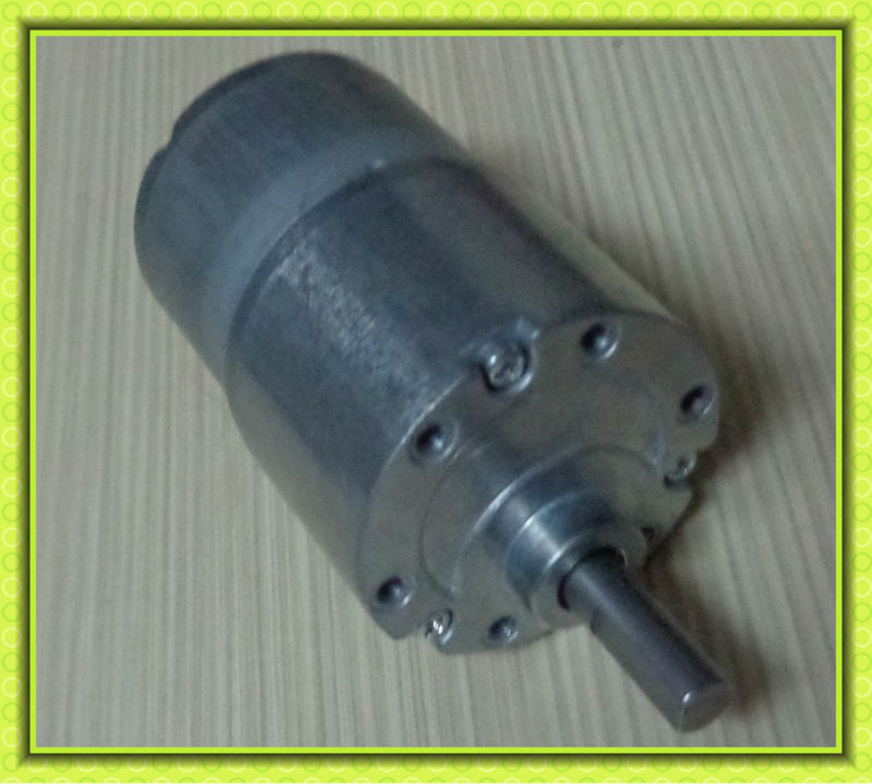 37mm zheng gear motor 6v 12v 24v