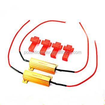 Rx24 Gold Aluminum Case 50w 6r Led Resistor