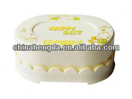 fashion soap container plastic injection soap container