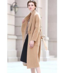 SWC148 Latest Casual Europe Design Women Knee Length Winter Coats