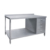 S024 Stainless Steel Work Table With Under Shelf And Splash Back