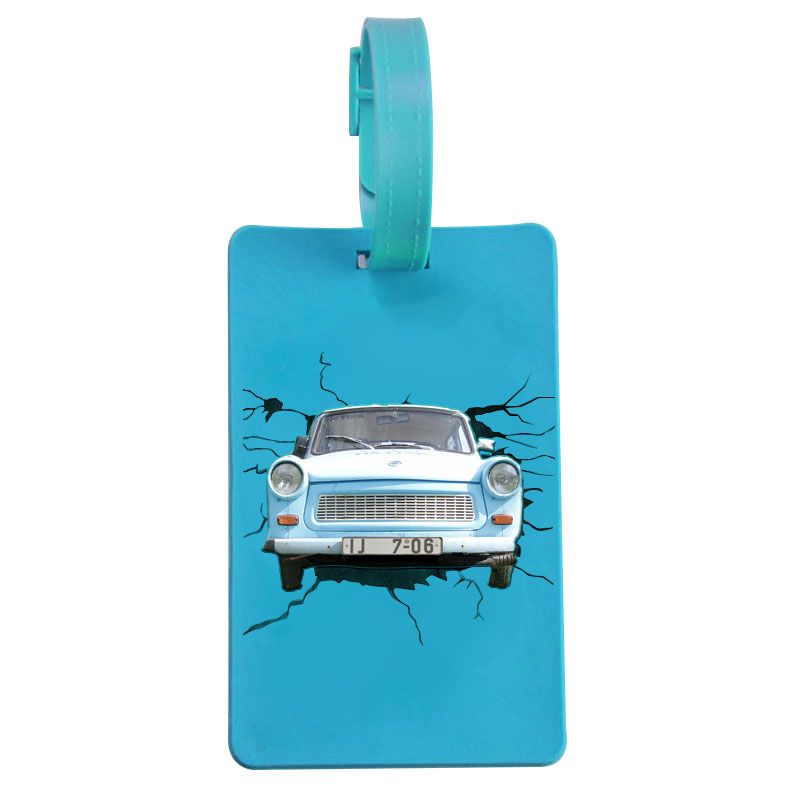 Custom Unique Soft PVC Luggage Tag, Rubber 3D Luggage Tag