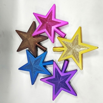 factory price christmas tree star topper for christmas decorations
