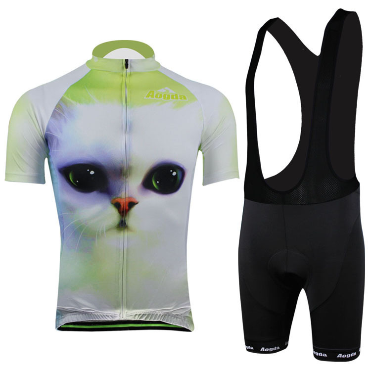 Cool  New 2014 cycling Jerseys women Cat style cycling jersey+cycling short  or ff7f1ab1f