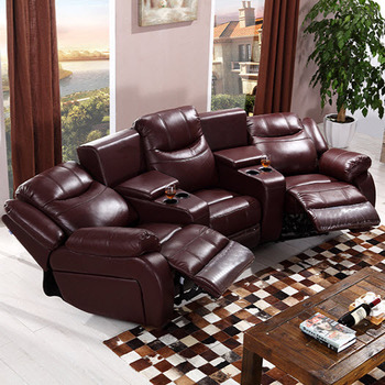 Cinema Sofa With Recliner Lazy Boy Sofa Bed Top Grain Leather Vip Cinema  Sofa Set